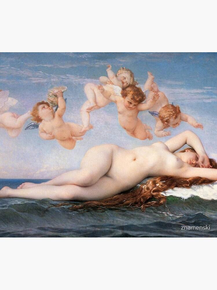 The #Birth of #Venus, Alexandre Cabanel 1875 #TheBirthofVenus #BirthofVenus by znamenski