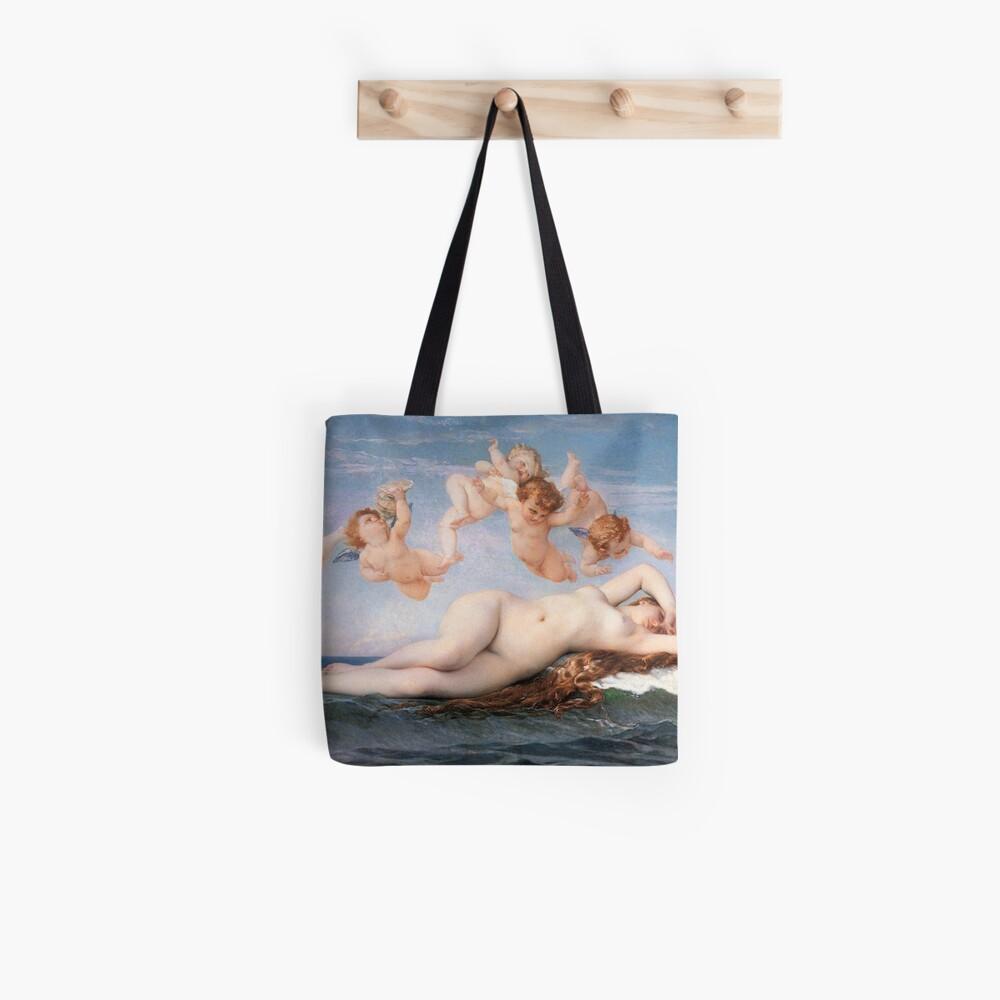 The #Birth of #Venus, Alexandre Cabanel 1875 #TheBirthofVenus #BirthofVenus Tote Bag