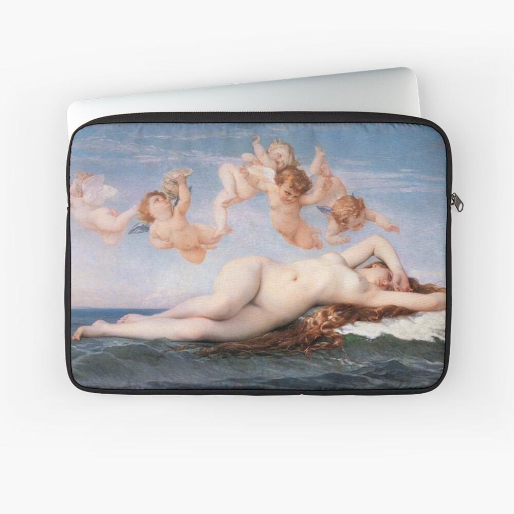 The #Birth of #Venus, Alexandre Cabanel 1875 #TheBirthofVenus #BirthofVenus Laptop Sleeve