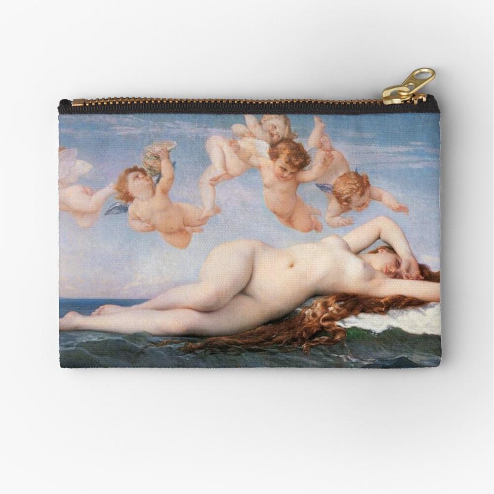 The #Birth of #Venus, Alexandre Cabanel 1875 #TheBirthofVenus #BirthofVenus Zipper Pouch