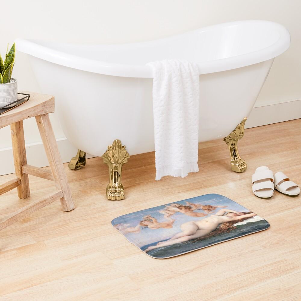 The #Birth of #Venus, Alexandre Cabanel 1875 #TheBirthofVenus #BirthofVenus Bath Mat