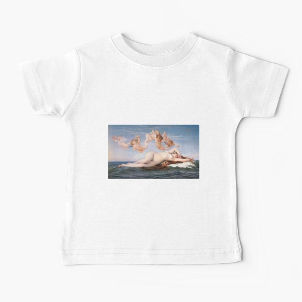 The #Birth of #Venus, Alexandre Cabanel 1875 #TheBirthofVenus #BirthofVenus Baby T-Shirt