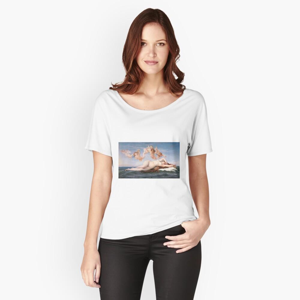 The #Birth of #Venus, Alexandre Cabanel 1875 #TheBirthofVenus #BirthofVenus Relaxed Fit T-Shirt
