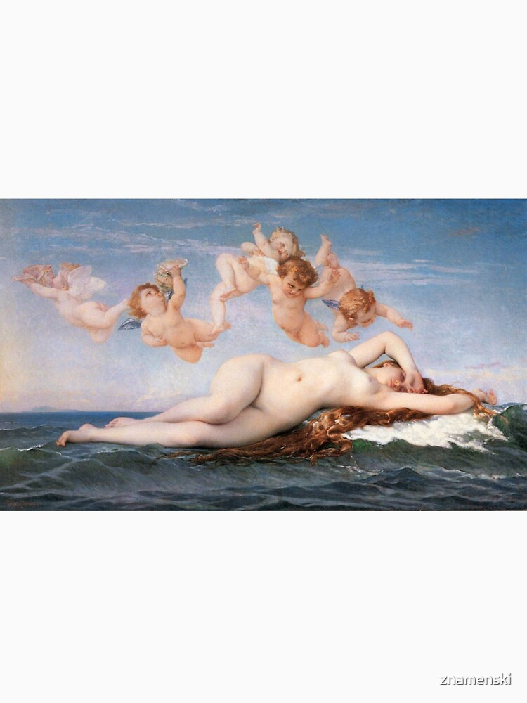 The #Birth of #Venus, Alexandre Cabanel 1875 #TheBirthofVenus #BirthofVenus by znamenski