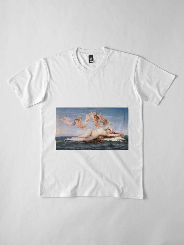 Alternate view of The #Birth of #Venus, Alexandre Cabanel 1875 #TheBirthofVenus #BirthofVenus Premium T-Shirt