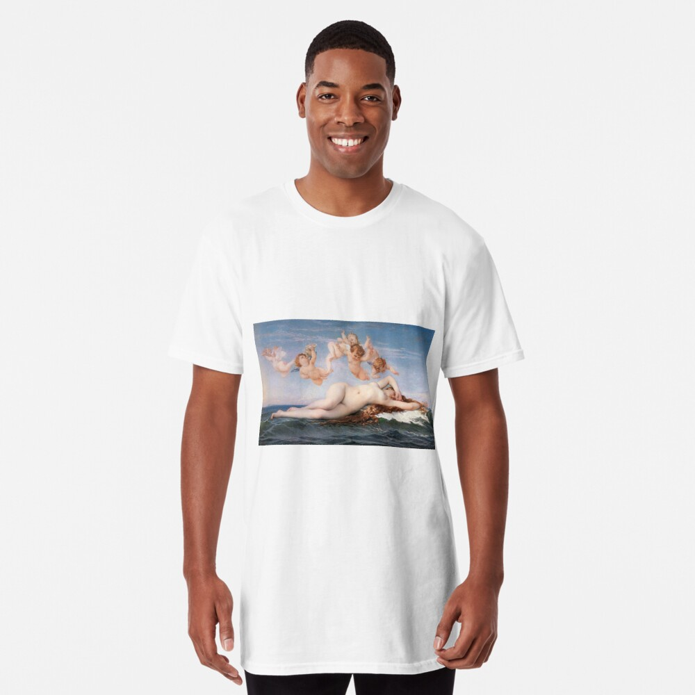 The #Birth of #Venus, Alexandre Cabanel 1875 #TheBirthofVenus #BirthofVenus Long T-Shirt