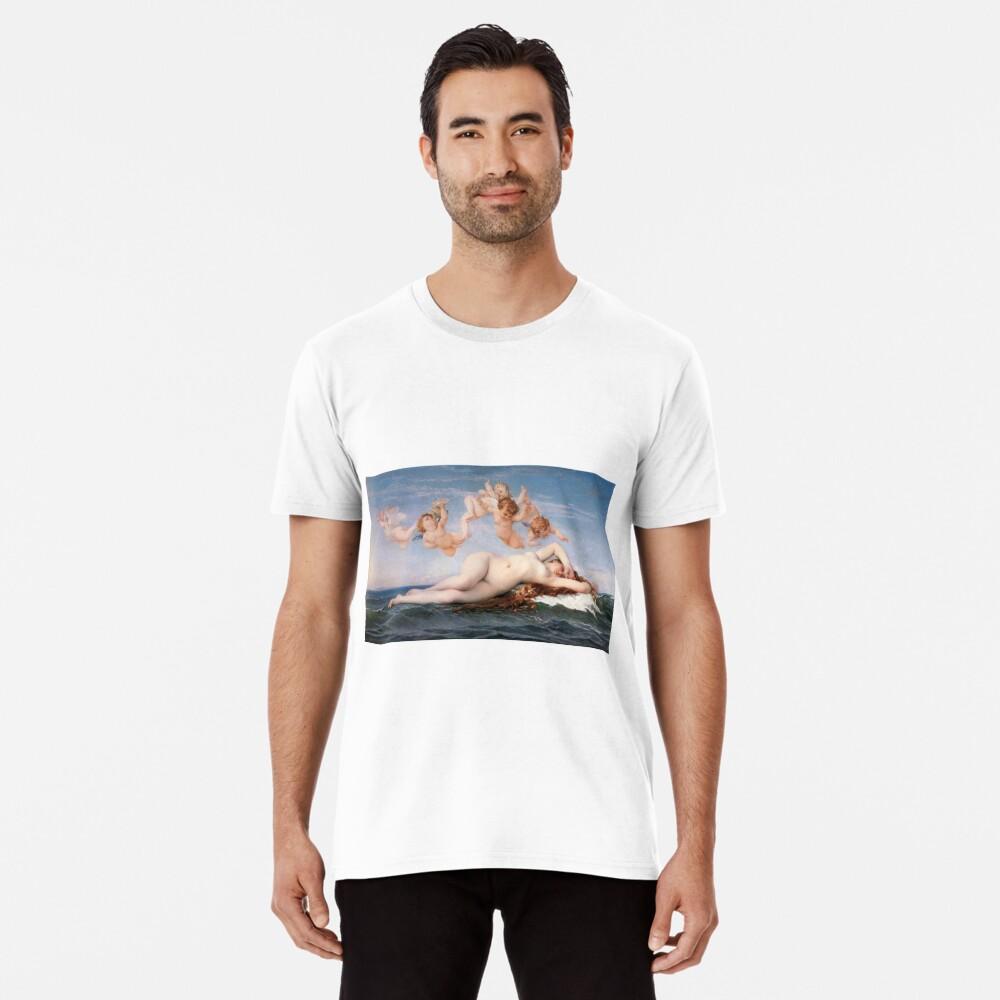 The #Birth of #Venus, Alexandre Cabanel 1875 #TheBirthofVenus #BirthofVenus Premium T-Shirt