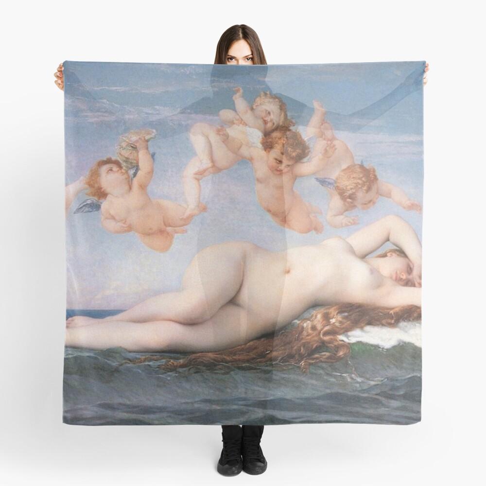 The #Birth of #Venus, Alexandre Cabanel 1875 #TheBirthofVenus #BirthofVenus Scarf