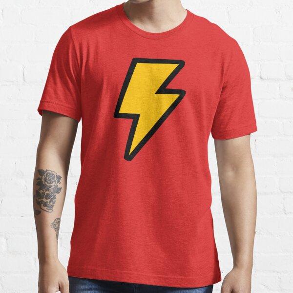 Cartoon Lightning Bolt Essential T-Shirt