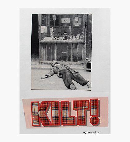 Kilt! Photographic Print