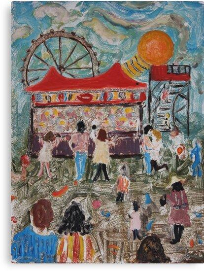 Amusement Park by Howard Sparks