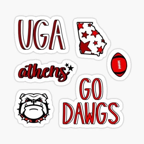 UGA sticker pack Sticker