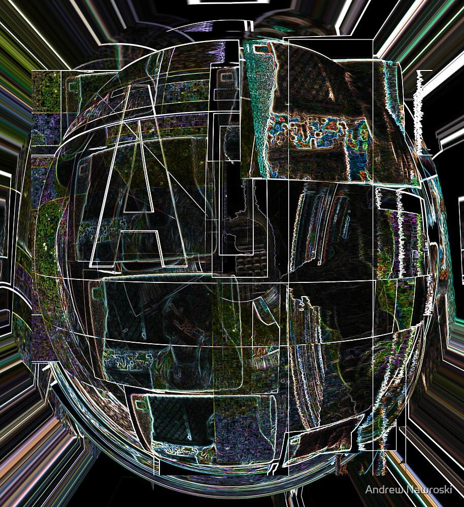 Grid 5 TV. by Andrew Nawroski