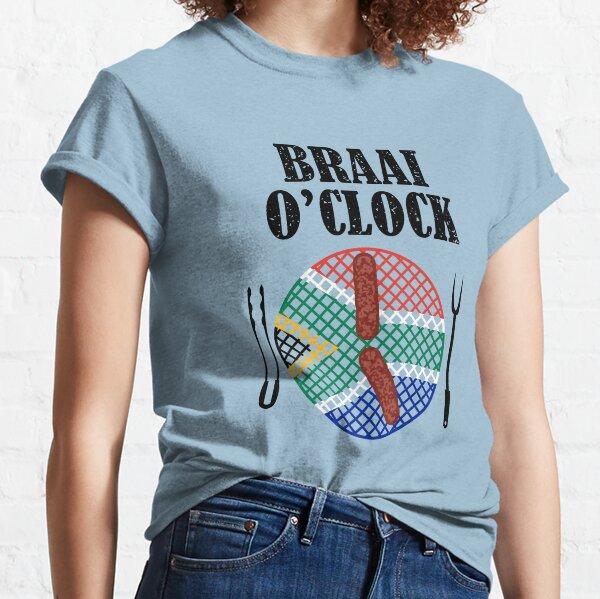 Braai O' Clock Time Classic T-Shirt