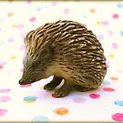 Hedgehog Polka Dots by Shara