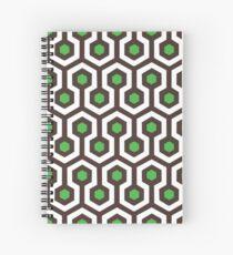 The Vortex Lite - Green Spiral Notebook