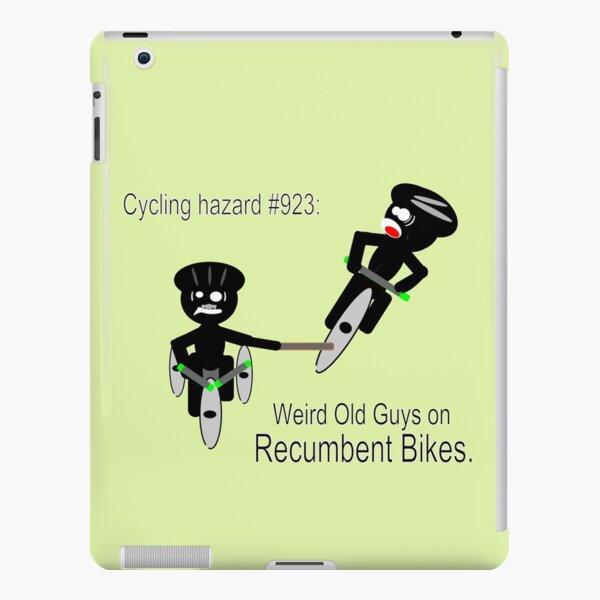 Hazards of Cyling #923 - Weird Old Guys on Recumbent Bikes iPad Snap Case