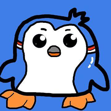 Cute penguin by Maxyjaz
