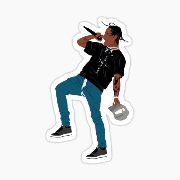 Travis Scott Sticker