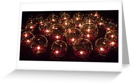 Votive Lights by phil decocco