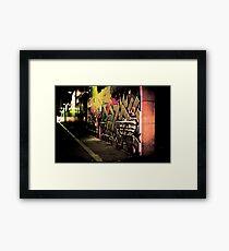 Graffiti Overload Framed Print