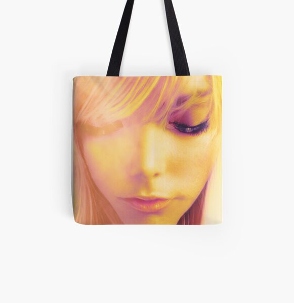 'HOPE' All Over Print Tote Bag