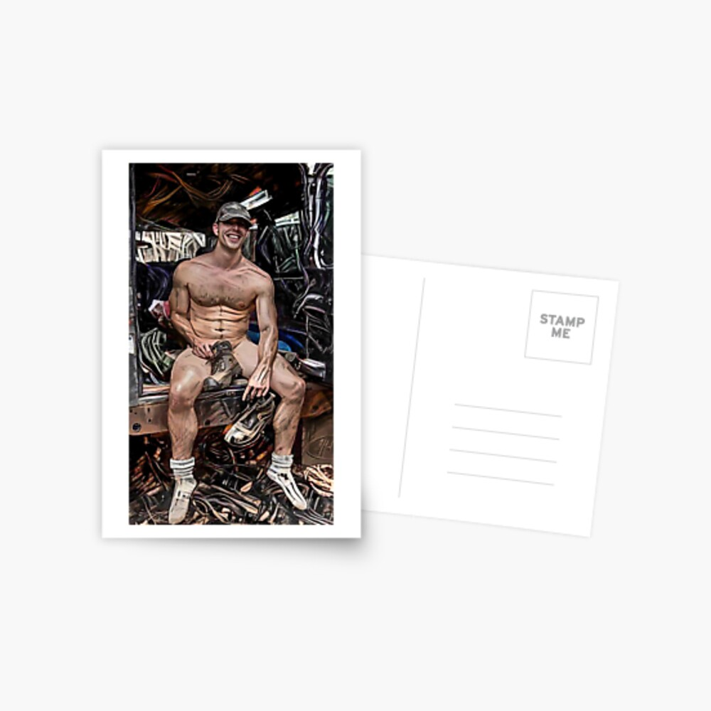 Boots & A Smile Postcard