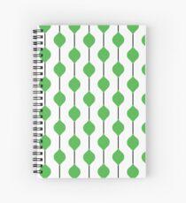 The Droplet Lite - Green Spiral Notebook