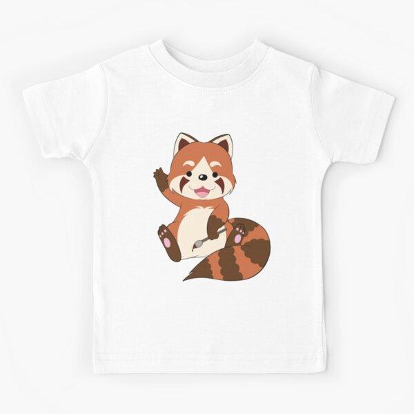 Doodle the Red Panda Kids T-Shirt