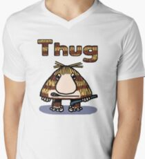Thug Mens V-Neck T-Shirt