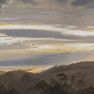 Morning Light (on the Jeeralang hills) by Heidi Schwandt Garner
