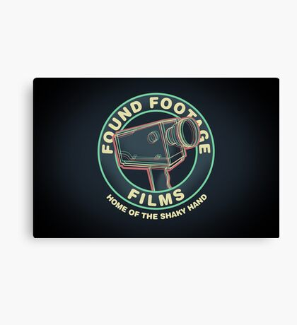 Found Footage Films Canvas Print