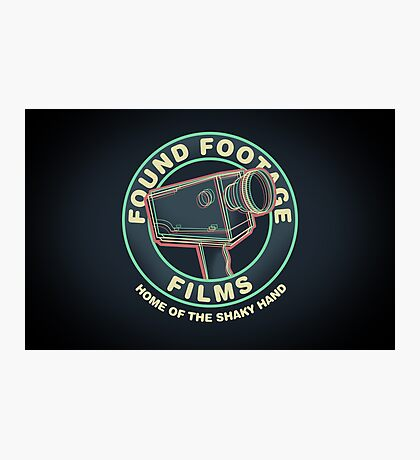 Found Footage Films Photographic Print