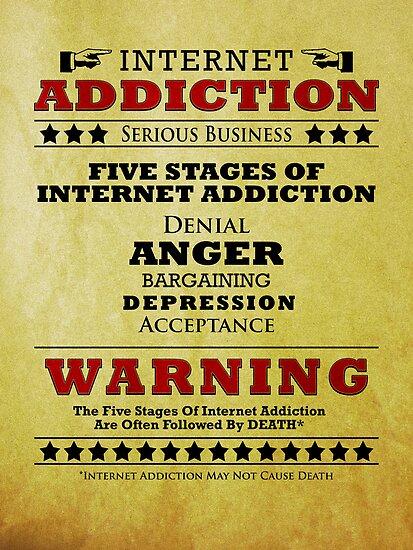 Internet Addiction by robotrobotROBOT