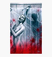Shower Slasher Photographic Print