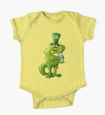 Saint Patrick's Day Tyrannosaurus Rex One Piece - Short Sleeve