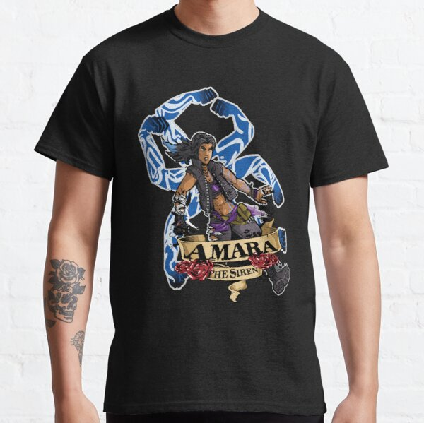 Amara The Siren Borderlands 3 The Tiger of Partali Classic T-Shirt