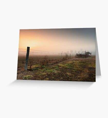 Fields of Yesterday Greeting Card