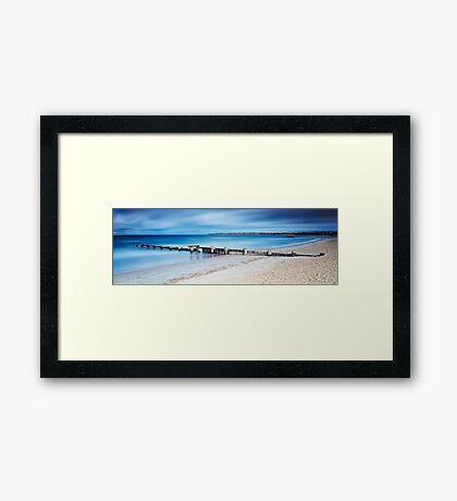 Mentone Moment Framed Print