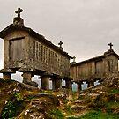 Espigueiros, Soajo, Parque Nacional da Peneda-Geres, Portugal by Andrew Jones