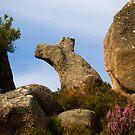 Natural rock formation, Castro Laboreiro, Parque Nacional da Peneda-Geres, Portugal by Andrew Jones