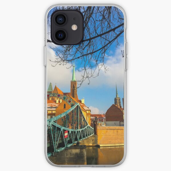 Cathedral Island in Wroclaw, Poland iPhone Soft Case