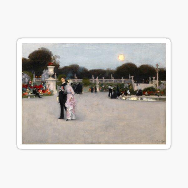 John Singer Sargent - In the Luxembourg Gardens Sticker