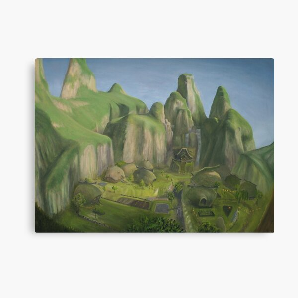 Kakariko Village - Legend of Zelda: Breath of the Wild Canvas Print