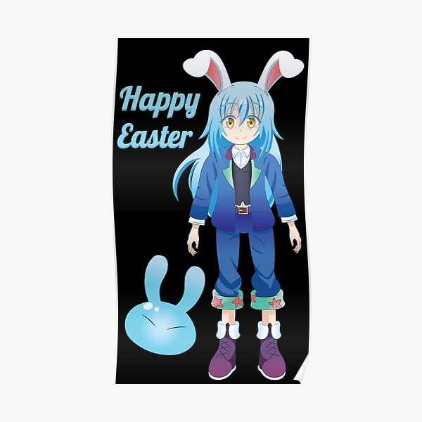 Happy Easter From Rimuru-Sama Poster