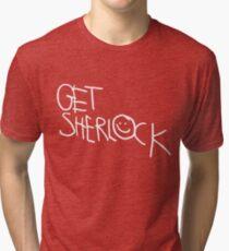 Get Sherlock Tri-blend T-Shirt
