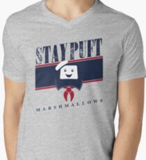Stay Puft Marshmallows Men's V-Neck T-Shirt