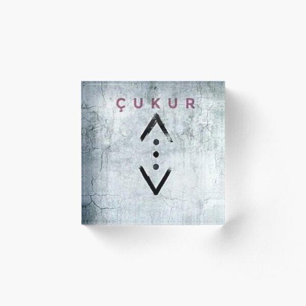 emblème de la série turque cukur Bloc acrylique