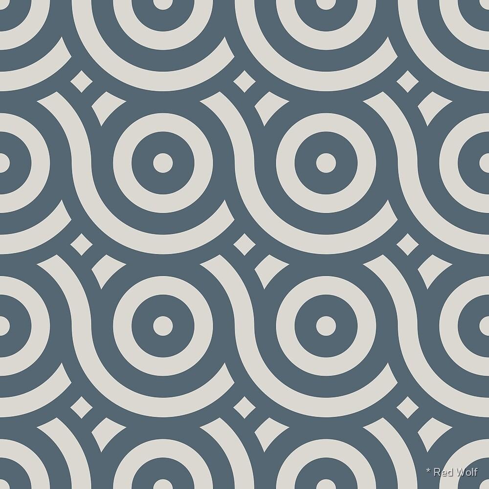 Geometric Pattern: Loop: Pebble by * Red Wolf
