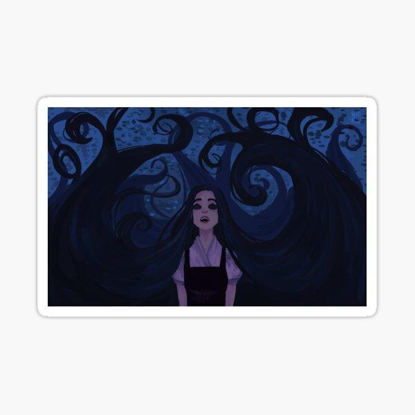 Rapunzel Hurt Incantation Sticker